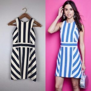 "MILLY ""Maya"" Graphic Striped Sleeveless Dress"